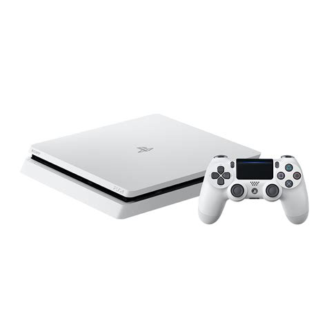 playstation ps4 playstation 4 slim 500gb glacier white console the gamesmen