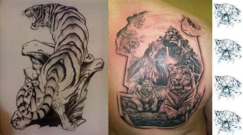 imagenes de tatuajes de tigres tatuajes de tigres tatuajes de animales