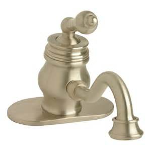 Rohl Kitchen Faucets Reviews faucet com a1 bn in brushed nickel by giagni