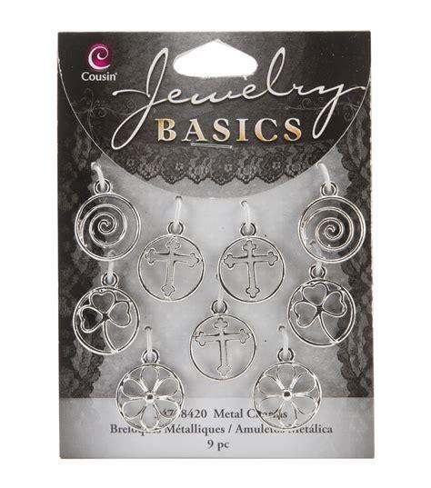 jewelry basics jewelry basics metal charms shapes 9 pg joann joann