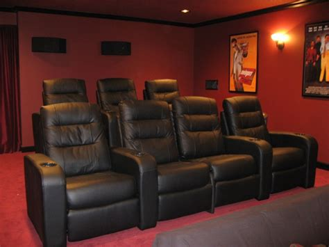 Theatre Seating by Home Theater Chairs Images