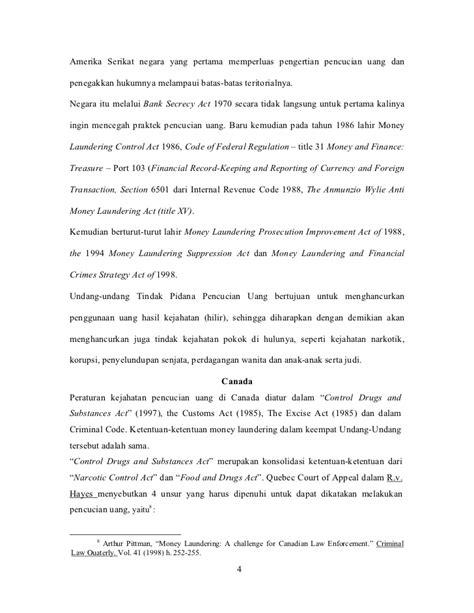 internal revenue code section 6501 rezim anti pencucian uang dan undang