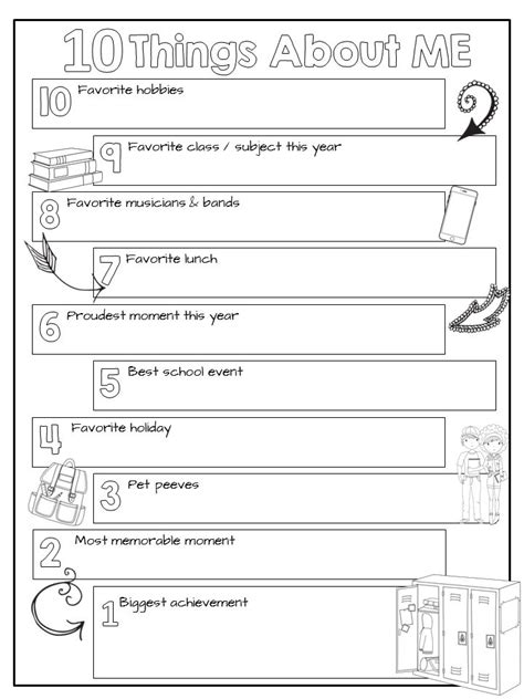 Getting To You Worksheet Pdf