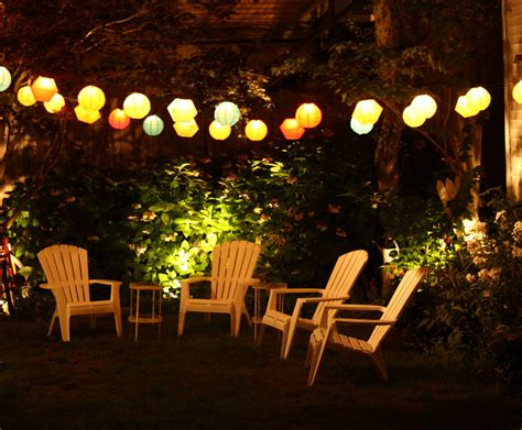 Garden Patio Lights Wonderful Patio And Deck Lighting Ideas For Summer Furniture Home Design Ideas