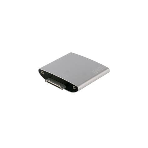 adaptateur hdmi et usb en aluminium pour iphone et ipod touch mobile store