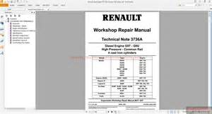 renault diesel engine g9t g9u comman rail system auto repair manual forum heavy equipment