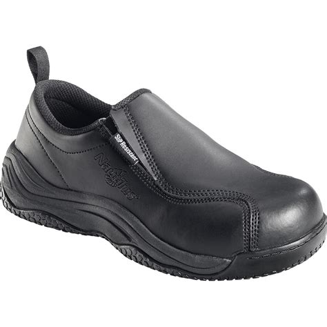 nautilus composite toe slip on work shoes n110
