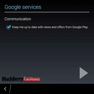 cara membuat akun google play di blackberry z3 cara instal google play store di blackberry 10