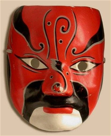 new year mask lesson mask opera japanese