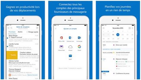 Calendrier Outlook Sur Iphone Outlook 2 0 Ios Nouvelle Interface Calendrier