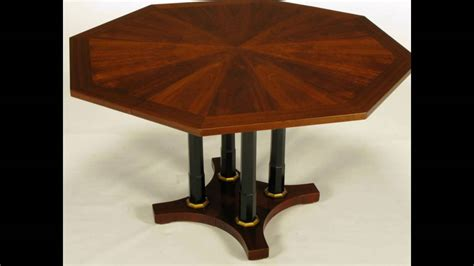 Octagon Kitchen Table by Furniture Gorgeous Octagonal Dining Table For Sale Carved