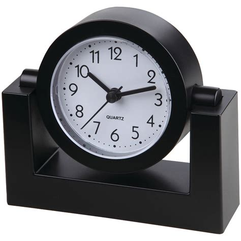 desk clock battery clocks walmart com