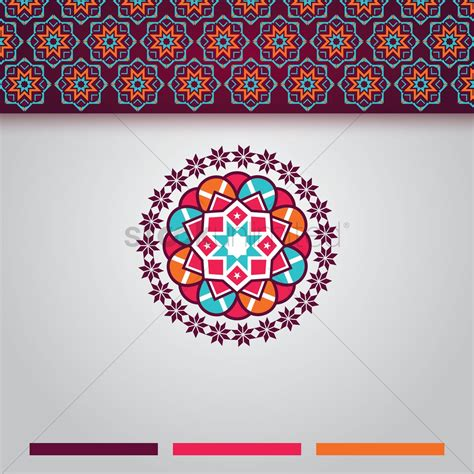design picture islamic background design vector image 1990062
