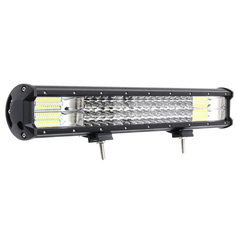 Spot Flood Led Light Bar 20 Inch 288w Led Light Bar Flood Spot Combo Offroad Car Truck Dc 10 30v Alex Nld
