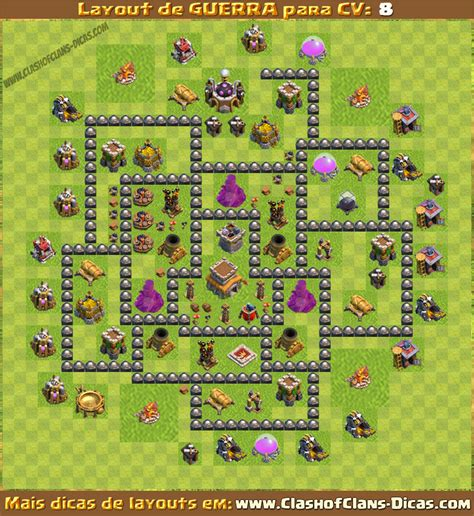 layout hybrido cv 8 layouts para cv8 em guerra clash of clans dicas
