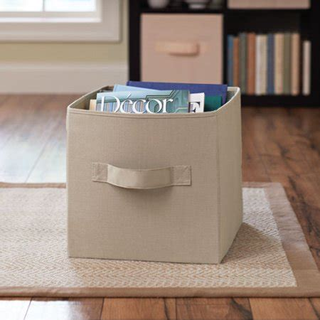 better homes storage cube better homes and gardens collapsible fabric storage cube walmart
