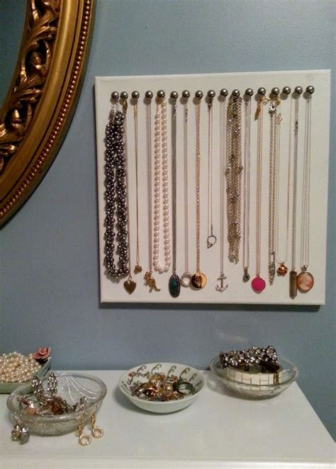 a jewelry holder 17 best ideas about diy necklace holder on