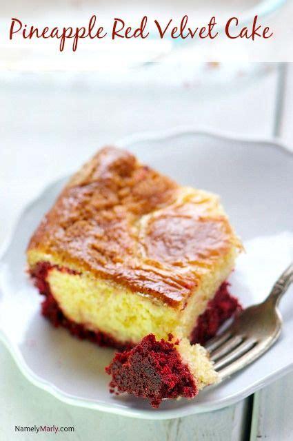 pineapple red velvet cake recipe cake bars red velvet and bar
