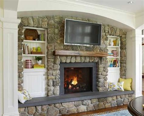 flat screen tv fireplace designs to hide or not