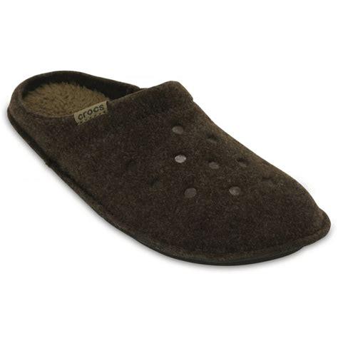 crocks slippers crocs crocs classic espresso walnut u3 203600 23b