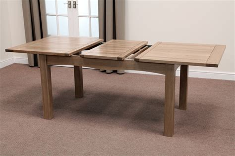 oak dining tables solid hardwood extending tables