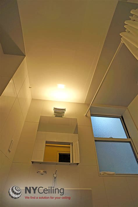 Ceiling List by Nyceiling Inc Portfolio Bathroom Glossy Stretch