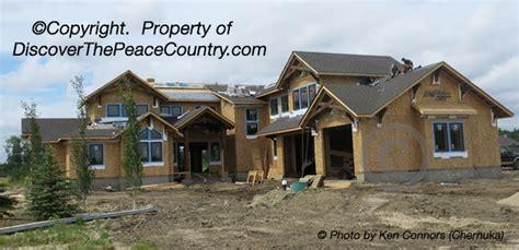 custom dream home com grande prairie dream home under construction