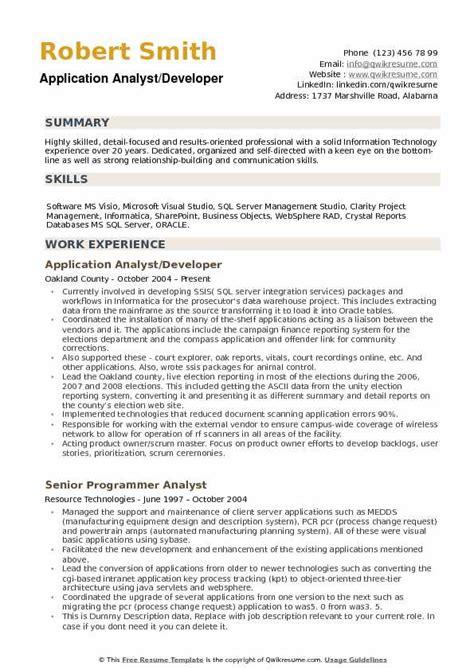 informatica developer resume resume ideas