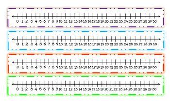 printable number line 1 to 30 printable number line to 30 uma printable