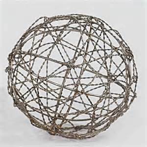 large decorative wire balls kathy s wedding ideas