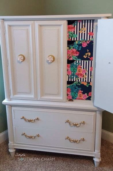 Decoupage Cabinets - crafts decoupage and craft cabinet on