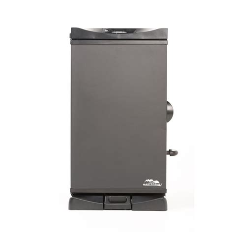 masterbuilt 30 in digital electric smoker with front