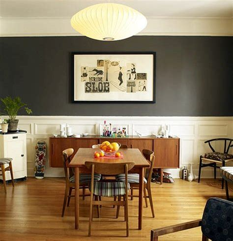 Gray Dining Room by Painting The Dining Room Gray Four Walls And A Roof