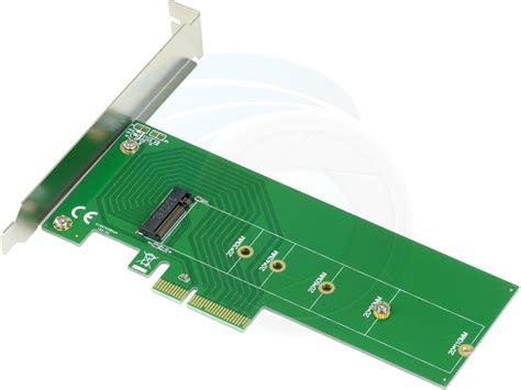 m 2 ngff m key ssd to pcie pci express 3 0 host adapter