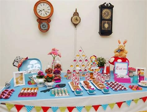 Buffet Em Casa Ideia Para Festas Infantis Servi 231 O De Buffet Em Casa