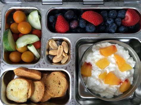 cottage cheese lunch ideas 5 healthy school lunches my four loved