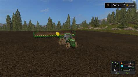 deere 7200 planter deere 7200 24 row planter v1 0 0 for fs 17 farming