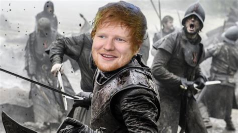 ed sheeran game of throne ed sheeran to make guest appearance in game of thrones