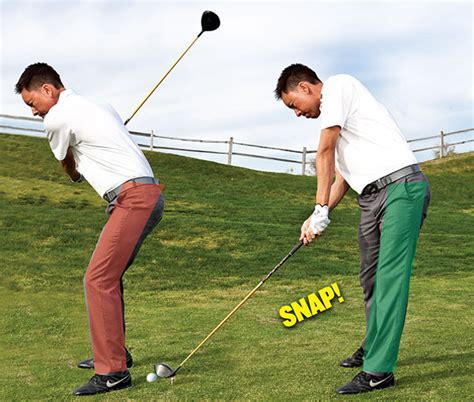 right leg in golf swing increase your smash factor golf tips magazine