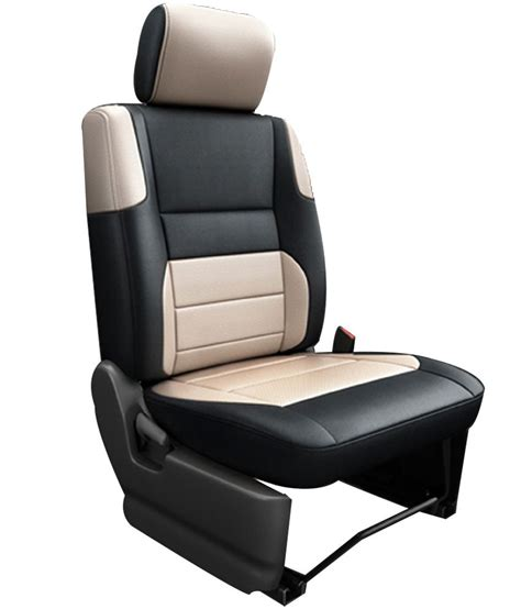 ford seat covers india elaxa car seat cover for ford ecosport black buy elaxa