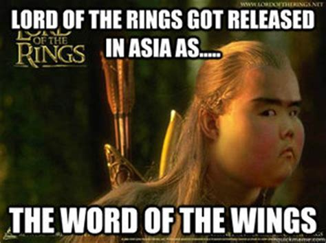 Lord Of The Rings Memes - asian lord of the rings memes quickmeme