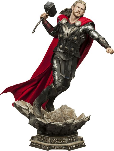 9 Statue Premium thor the world thor premium format statue sideshow collectibles popcultcha