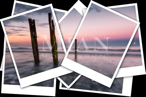 polaroid collage template mian photography free polaroid collage template