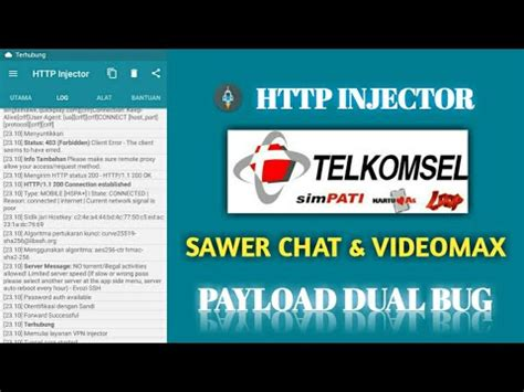 bug host telkomsel status 200 download config telkomsel videomax 200 terbaru mei 2018