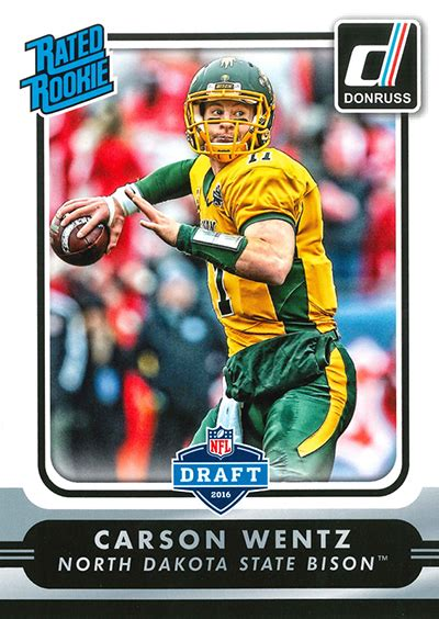 Nfl Com Gift Card - 2016 donruss nfl draft promo cards exclusive to draft town