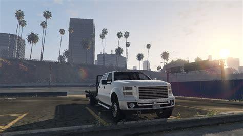 mod gta 5 online 1 20 vapid sandking flatbed truck gta5 mods com