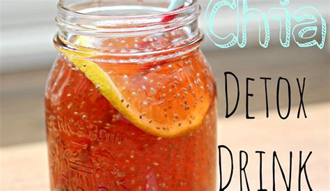 Headache During Detox by A Healthy Chia Seed Detox Drink To Help You Recover From