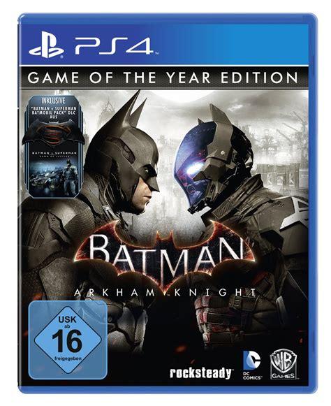 Ps4 Batman Arkham Goty Edition New batman arkham of the year edition 1 ps4 news