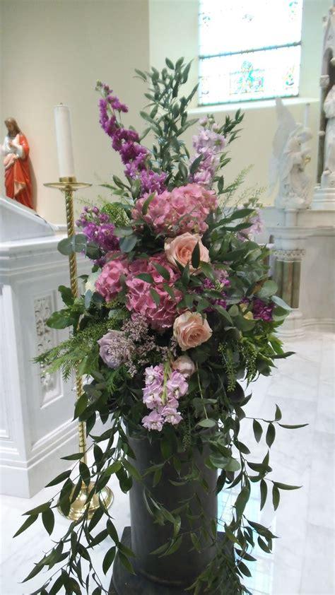 Church Flower Arrangements Pedestal 36 Best Images About Pedestal On Pinterest Altar Flowers
