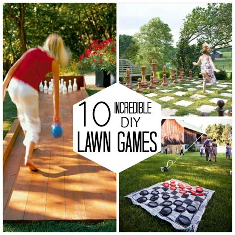 10 diy lawn babble